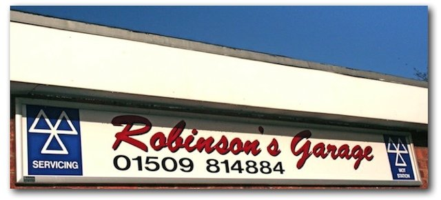 Robinsons Garage Barrow upon Soar Loughborough Leicestershire